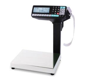 Торговые весы с печатью этикеток МАССА-К MK-32.2-RP10 32кг