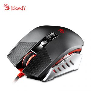 A4TECH BLOODY TL60A TERMINATOR LASER GAMING MOUSE IR MICRO-SWITCH METAL FEET CORE3 ACTIVE USB BLACK