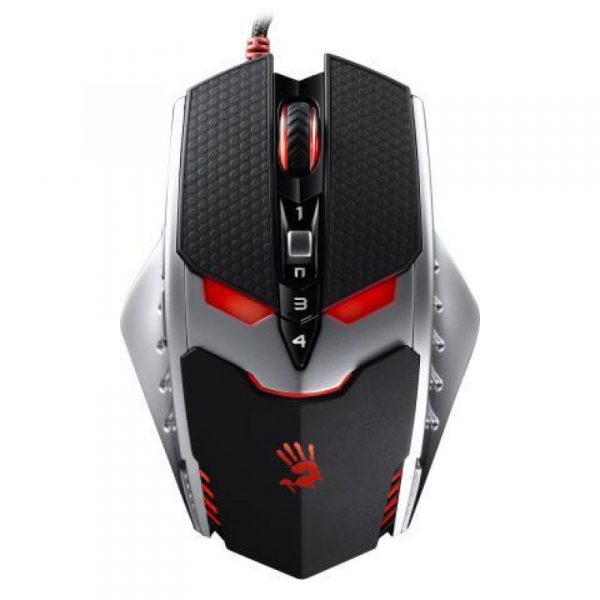 A4TECH BLOODY TL80A TERMINATOR LASER GAMING MOUSE IR MICRO-SWITCH METAL FEET CORE3 ACTIVE USB BLACK