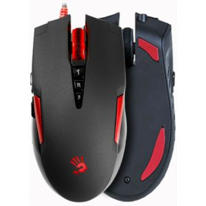 A4TECH BLOODY V2MA GAMING MOUSE METAL FEET CORE3 ACTIVE USB BLACK