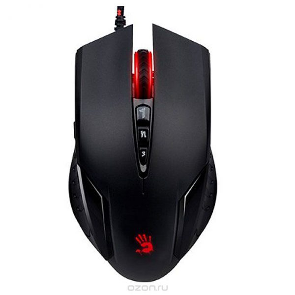 A4TECH BLOODY V5MA GAMING MOUSE METAL FEET CORE3 ACTIVE USB BLACK