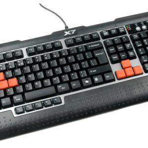 A4TECH G800V 3X FAST GAMING MULTIMEDIA KEYBOARD USB US+RUSSIAN