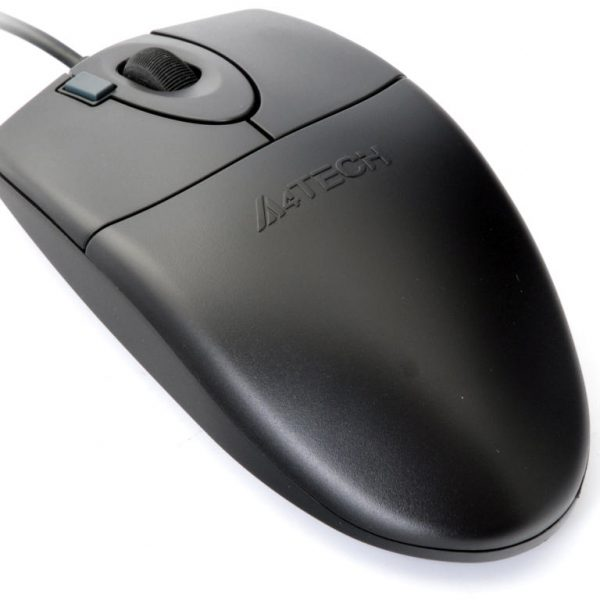A4TECH  OP-620D OPTICAL 2xCLICK MOUSE USB BLACK