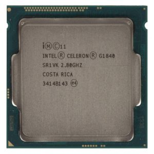 CPU LGA1150 Intel Celeron Dual Core G1840 2.8Ghz, 2MB Cache, 1333Mhz Bus, Tray