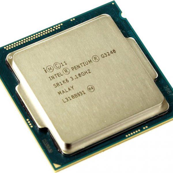 CPU LGA1150 Intel Pentium Dual Core G3240 (Haswell), 3.1GHz, 3MB Cache, 1333MHz FSB, TRAY