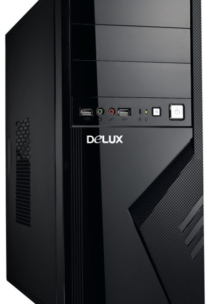 DELUX ATX DLC-MV875 BLACK