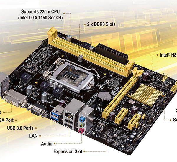 MB LGA1150 Asus H81M-K, H81