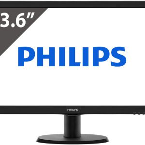 PHILIPS 23,6 243V5LSB TN LED WIDE 1920x1080 100000001 5ms DVI-D VGA