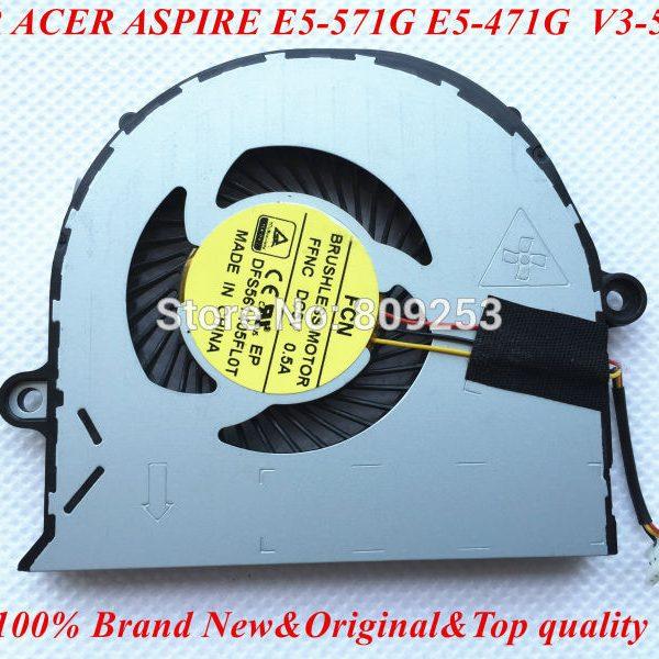 Новый-DFS561405FL0T-FFHD-FFNC-вентилятор-для-ACER-ASPIRE-E5-571G-E5-571-E5-471G-E5-471