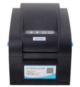 Принтер этикеток - Xprinter XP-358BM USB LAN COM - ALL in One