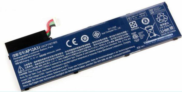 Батарейка Original ACER AP12A3I Ultra M5 Aspire M5-581G M3-481G 11.1V 4850mAh