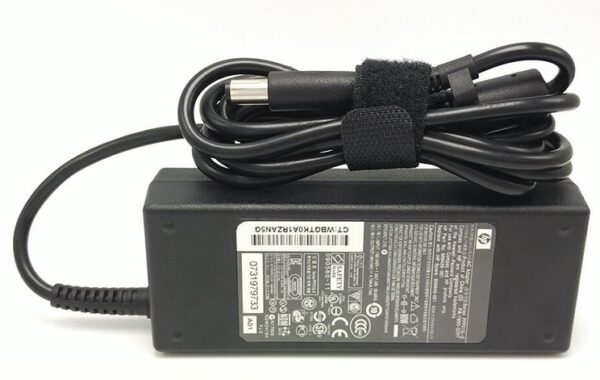 Блок питания HP HP COMPAQ 19v 4.7A 90W (7.4x5.0+игла) PA-1900-08H2 толстый разъем с иглой ORIGINAL