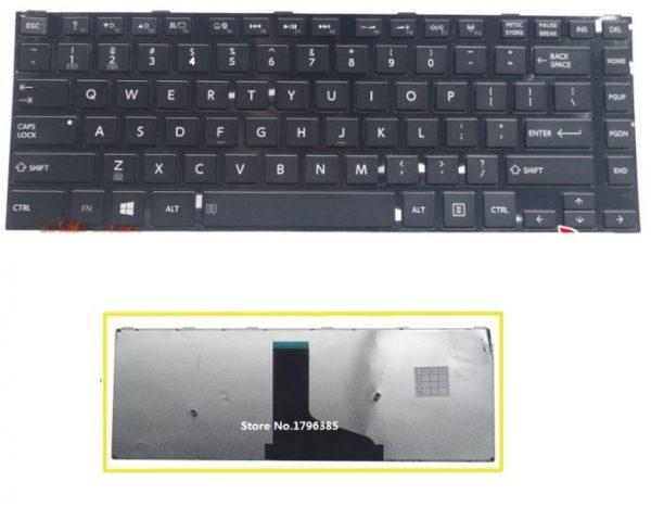 Клавиатура TOSHIBA satellite S40 C40 S40D S40T L40 L40D L40T L40DT-A англ
