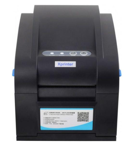 Принтер этикеток - Xprinter XP-358BM USB LAN COM - ALL in One