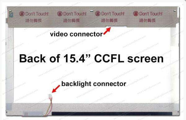 Матрица 15,4 LCD 30-pin старый шлейф