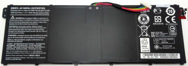 Батарейка Original Acer AC14B18J E3-111 ES1-511 V5-122P V5-132 V5-132P C730 B115-M 11.4V 3220mAh