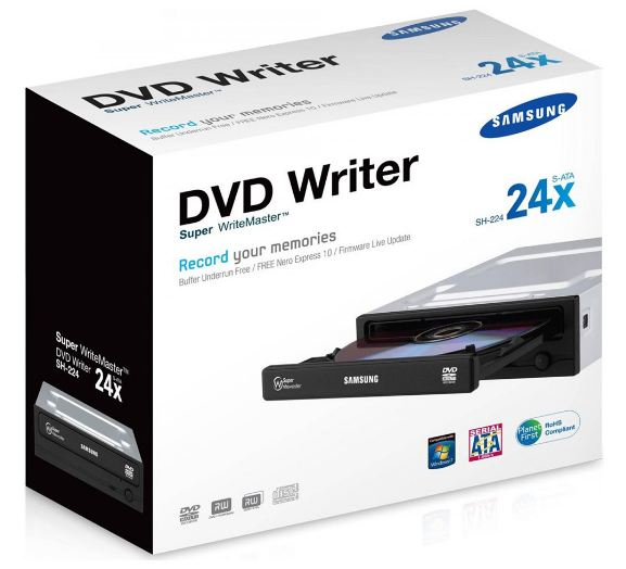 DVD-RW Samsung ATA IDE на компьютера