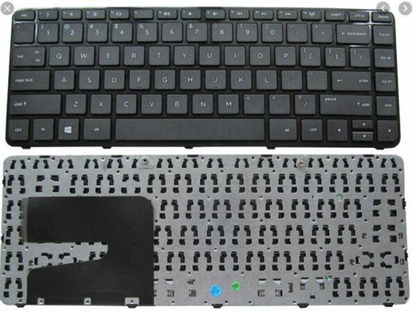 Клавиатура HP 14-A003TX G14-A005TX A002TX TPN-F112 F114 276tx (с рамкой ) англ