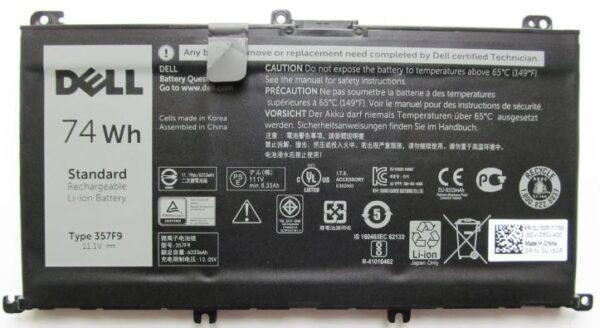 Батарейка Original Dell 35F79 15 7000 15 7559 7566 7567 7759 357F9 11.1V 74Wh