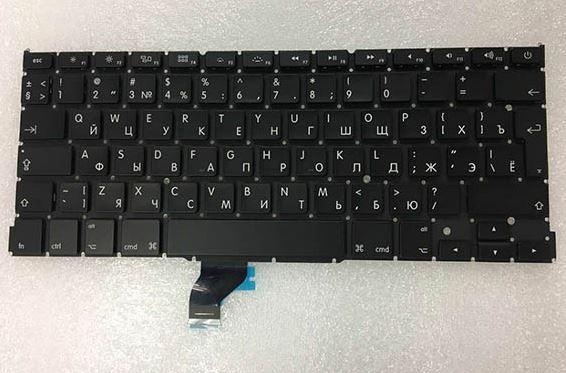 Клавиатура APPlE Macbook Pro A1502 ME864 ME865 ME866 большой Enter рус англ