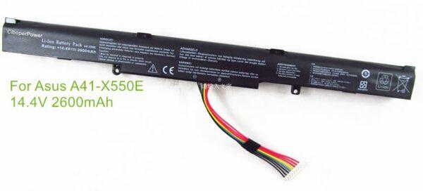 Батарейка Asus A41-X550E K550DP D451V A450JF X450J 2600mAh